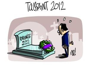 Nactualités : la Toussaint 2012 de François Hollande