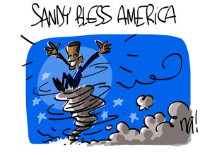 Nactualités : Sandy bless America