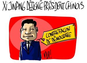 Nactualités : Xi Jinping désigné président chinois