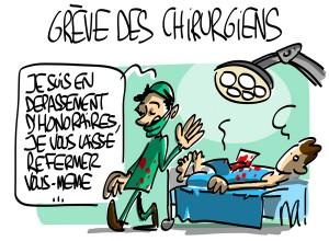 Nactualités : grève des chirurgiens