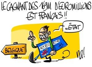 Nactualités : le gagnant des 169 millions d'Euromillions est français !