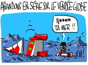 Nactualités : abandons en série sur le Vendée Globe
