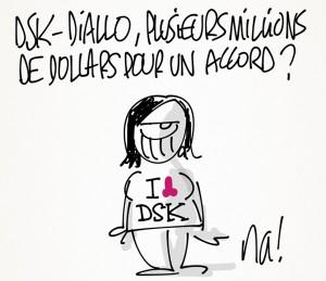 Nactualités : DSK-Diallo, plusieurs millions de dollars pour un accord ?