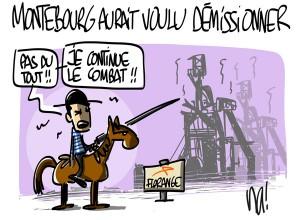 Nactualités : Arnaud Montebourg aurait voulu démissionner