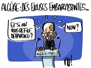 Nactualités : Algérie, des excuses embarrassantes…