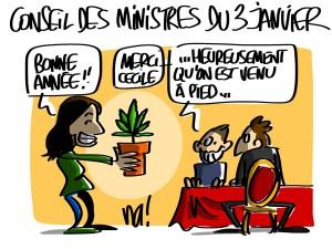 Nactualités : conseil des ministres du 3 janvier