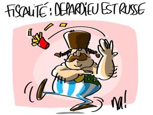Nactualités : fiscalité, Depardieu est russe