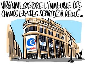 Nactualités : Virgin Megastore, l'immeuble des Champs Elysées serait déjà reloué…