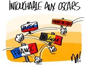 Nactualités : intouchable aux Oscars…