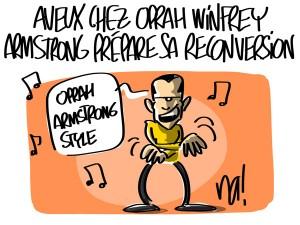 Nactualités : Aveux chez Oprah Winfrey, Lance Armstrong prépare sa reconversion