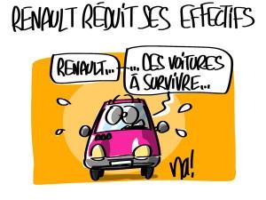 Nactualités : Renault va réduire ses effectifs