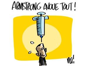 Nactualités : Armstrong avoue tout !