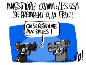 Nactualités : investiture Obama, les USA se préparent à la fête !