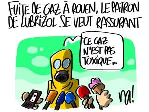 Nactualités : fuite de gaz à Rouen, le patron de Lubrizol se veut rassurant