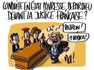 Nactualités : conduite en état d'ivresse, Depardieu devant la justice française ?