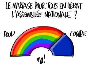 Nactualités : le mariage pour tous en débat à l'assemblée nationale ?