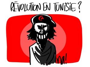 Nactualités : révolution en Tunisie ?