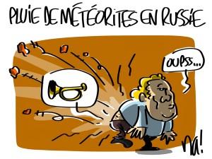 Nactualités : pluie de météorites en Russie