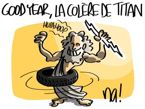 Nactualités : Good Year, la colère de Titan