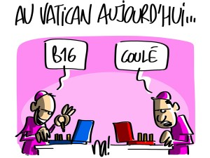 Nactualités : au Vatican aujourd'hui