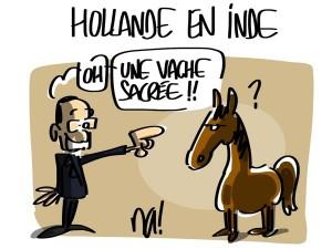 Nactualités : François Hollande en Inde