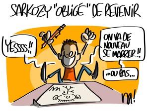 Nactualités : Sarkozy «obligé» de revenir