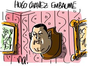 Nactualités : Hugo Chavez embaumé
