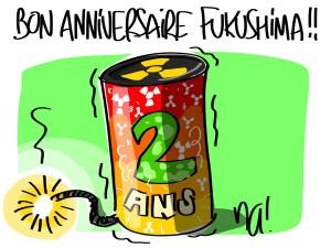 Nactualités : bon anniversaire Fukushima !