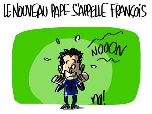 Nactualités : le nouveau Pape s'appelle François