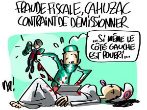 Nactualités : fraude fiscale, Jérôme Cahuzac contraint de démissionner