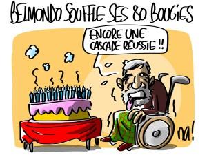 Nactualités : Belmondo souffle ses 80 bougies