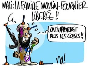 Nactualités : la famille Moulin-Fournier libérée !