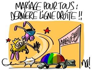 Nactualités : mariage pour tous, dernière ligne droite !