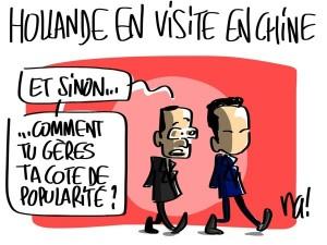 Nactualités : Hollande en visite en Chine