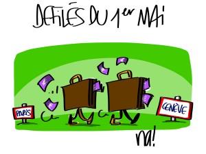 Nactualités : défilés du 1er Mai