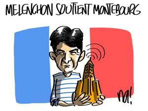 Nactualités : Mélenchon soutient Montebourg