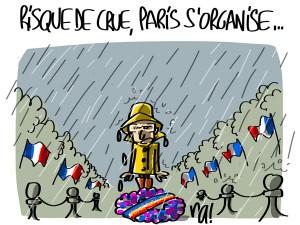 Nactualités : risque de crue, Paris s'organise