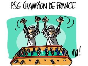 Nactualités : PSG champion de France