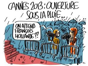 Nactualités : Cannes 2013, ouverture sous la pluie
