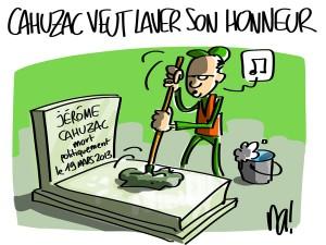 Nactualités : Jérôme Cahuzac veut laver son honneur