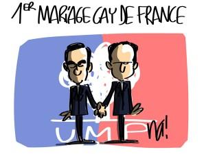 Nactualités : le 1er mariage gay de France