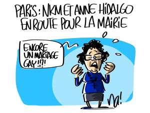 Nactualités : Paris, Nathalie Kosciusko-Morizet et Anne Hidalgo en route pour la Mairie