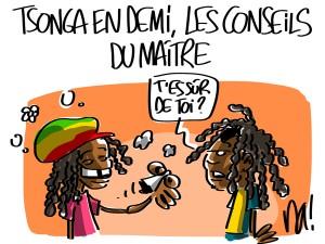 Nactualités : Tsonga en demi-finale, les conseils du Maître