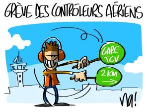 Nactualités : grève des contrôleurs aériens