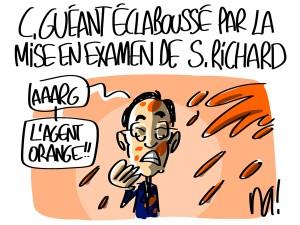 Nactualités : Claude Guéant éclaboussé par la mise en examen de Stéphane Richard