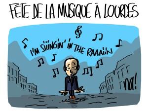 Nactualités : fête de la musique à Lourdes