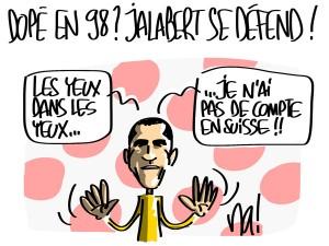 Nactualités : dopé en 1998 ? Laurent Jalabert se défend !