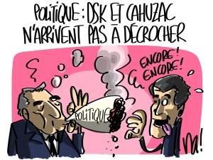 Nactualités : politique, DSK et Cahuzac n'arrivent pas à décrocher…
