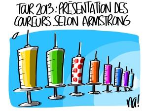 Nactualités : Tour 2013, présentation des coureurs selon Lance Armstrong