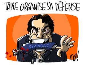 Nactualités : Tapie organise sa défense